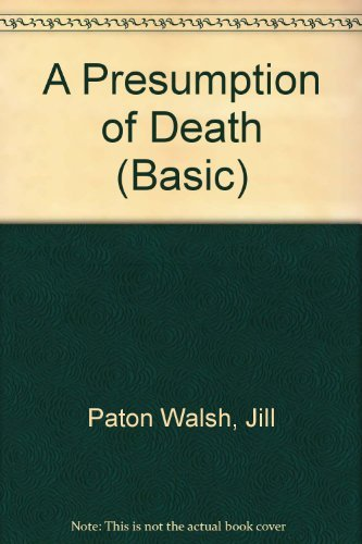 9780786255610: A Presumption of Death (Thorndike Press Large Print Basic Series)