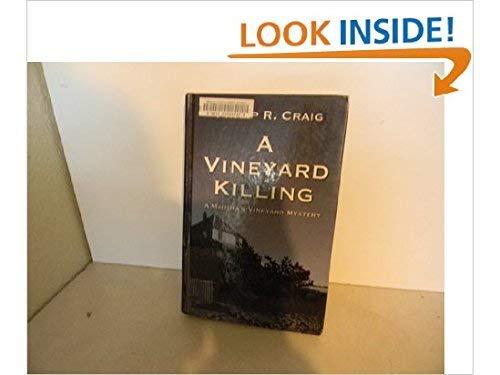 9780786255948: A Vineyard Killing: A Martha's Vineyard Mystery