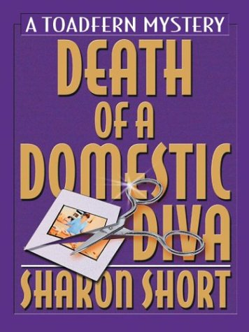 9780786262007: Death of a Domestic Diva: A Toadfern Mystery (Thorndike Mystery)