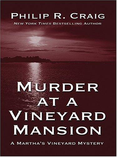 9780786266258: Murder At A Vineyard Mansion: A Martha's Vineyard Mystery
