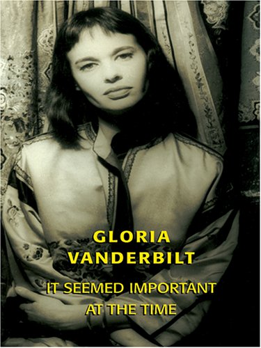 9780786272457: It Seemed Important at the Time: A Romance Memoir (Thorndike Biography)