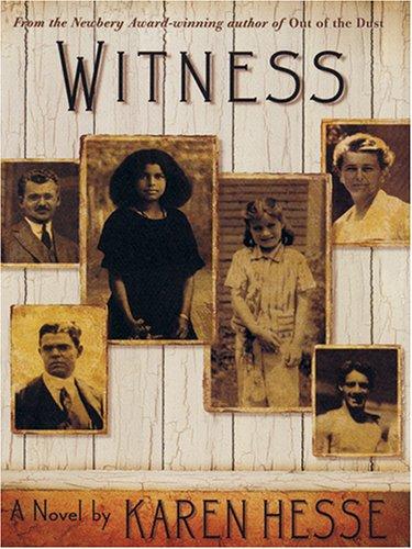 9780786272495: Witness