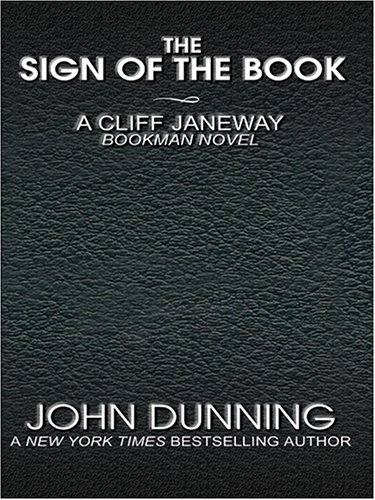 9780786275472: The Sign of the Book: A Cliff Janeway Bookman Novel