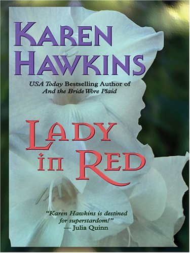 9780786278534: Lady in Red (Thorndike Press Large Print Romance Series)