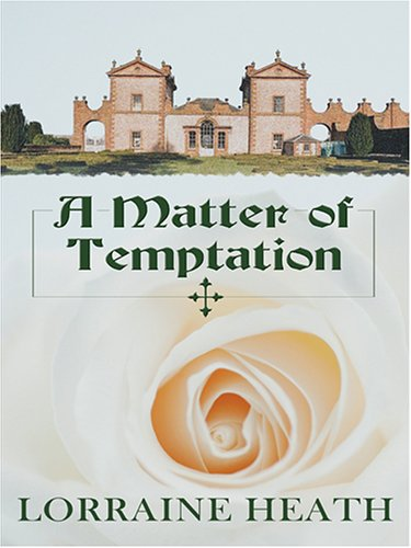 9780786282579: A Matter of Temptation (Thorndike Romance)