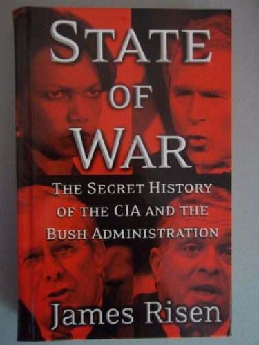 9780786286515: State of War: The Secret History of the CIA And the Bush Administration (Thorndike Press Large Print Nonfiction Series)