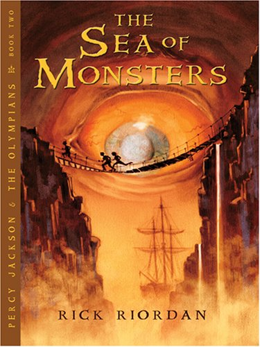 9780786290741: The Sea of Monsters (Percy Jackson & The Olypians: Thorndike Press Large Print Literacy Bridge Series)
