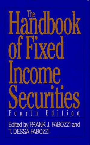 9780786300013: The Handbook of Fixed Income Securities