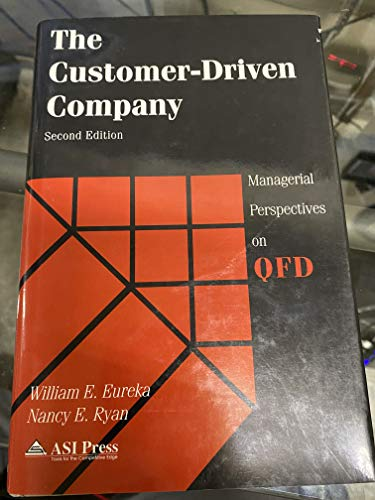 9780786301416: The Customer-Driven Company: Managerial Perspectives on Quality Function Deployment