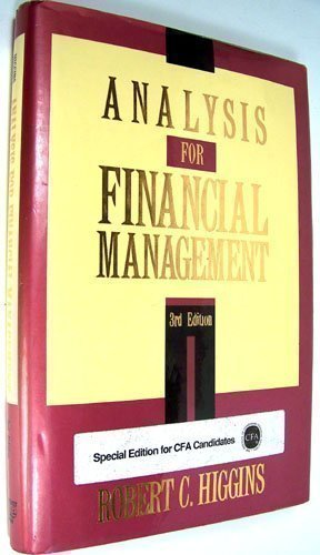 9780786302758: Analysis for Financial Management