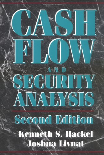9780786304073: Cash Flow and Security Analysis