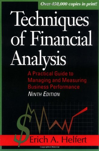 9780786311200: Techniques for Financial Analysis (Techniques of Financial Analysis)