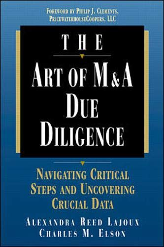 9780786311507: The Art of M&A Due Diligence