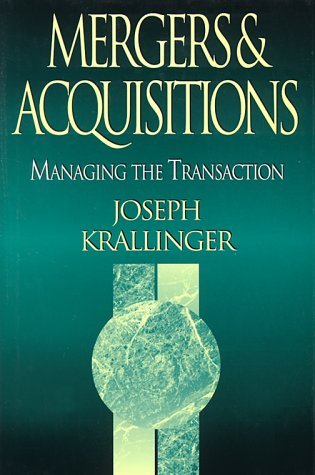 9780786311668: Mergers & Acquisitions: Managing the Transaction