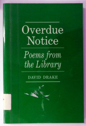 9780786400522: Overdue Notice: Poems from the Library