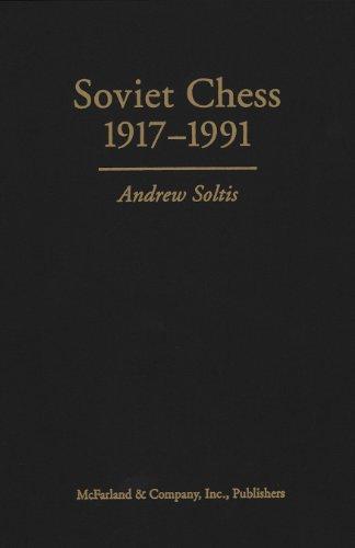 9780786406760: Soviet Chess 19171991