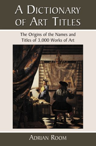 9780786407705: A Dictionary of Art Titles: The Origins of the Names and Titles of 3,000 Works of Art