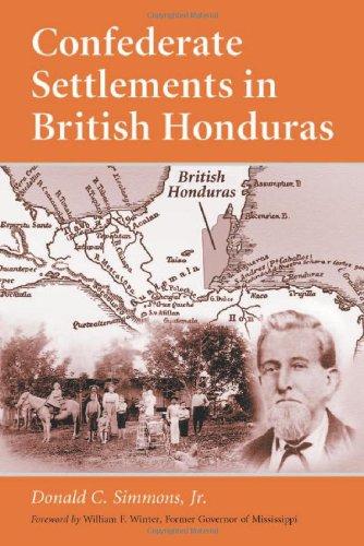 9780786410163: Confederate Settlements in British Honduras