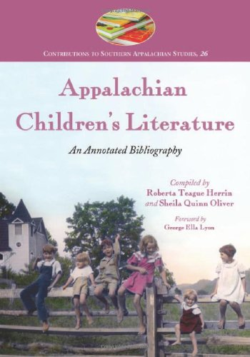 9780786410408: Appalachian Children's Literature: An Annotated Bibliography (Contributions to Southern Appalachian Studies)