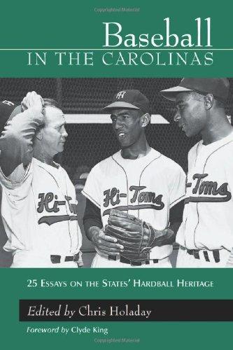 9780786413188: Baseball in the Carolinas: 25 Essays on the States' Hardball Heritage