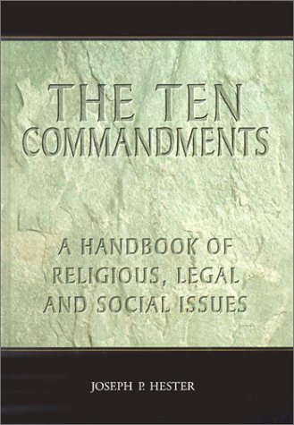 9780786414192: The Ten Commandments: A Handbook of Religious, Legal and Social Issues