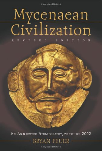 9780786417483: Mycenaean Civilization: An Annotated Bibliography Through 2002