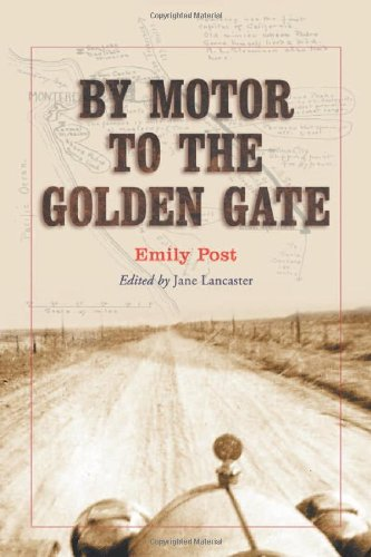 9780786419401: By Motor to the Golden Gate