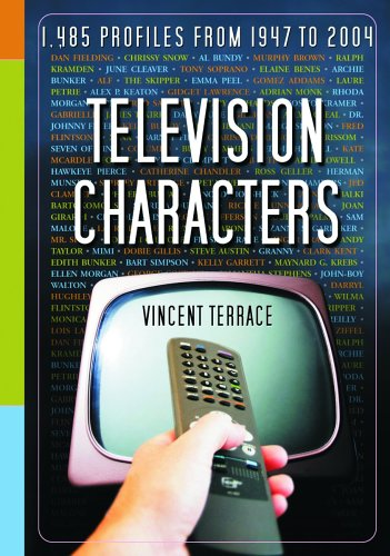 9780786421916: Television Characters: 1,485 Profiles, 1947-2004