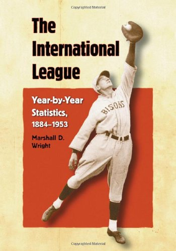 9780786422678: The International League: Year-by-year Statistics, 1884-1953