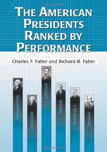 9780786426102: American Presidents Ranked by Performance