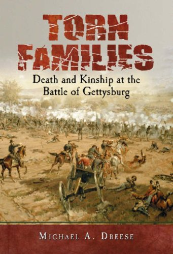 9780786428243: Torn Families: Death And Kinship at the Battle of Gettysburg