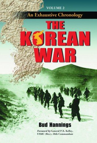 9780786428649: The Korean War: An Exhaustive Chronology. Volume 2
