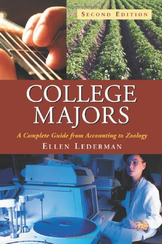 9780786428885: College Majors: A Complete Guide from Accounting to Zoology, 2d ed.