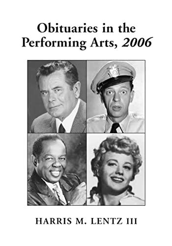 obituaries in the performing arts 1998 lentz harris m