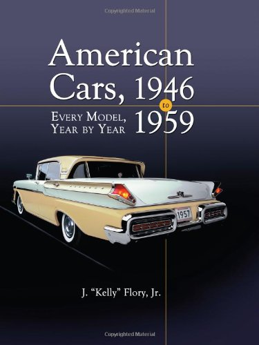 9780786432295: American Cars 1946-1959: Every Model, Year by Year