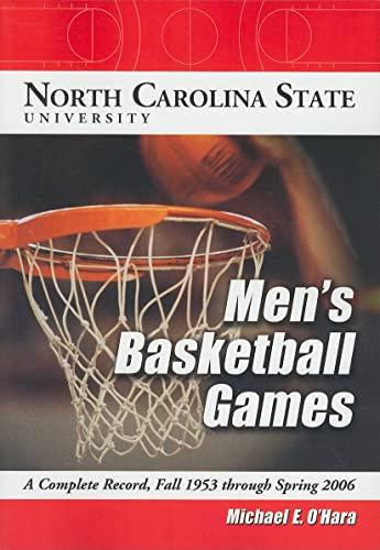 North Carolina State University Men's Basketball Games: Michael O'Hara