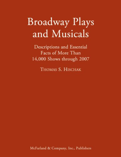 9780786434480: Broadway Plays and Musicals: Descriptions and Essential Facts of More Than 14,000 Shows through 2007