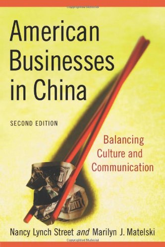 9780786435920: American Business In China: Balancing Culture and Communication