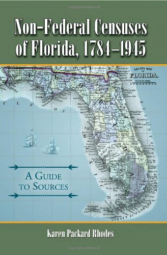 9780786437047: Non-Federal Censuses of Florida, 1784-1945: A ...