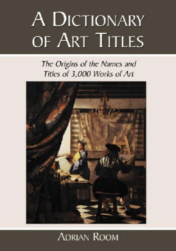 9780786438891: A Dictionary of Art Titles: The Origins of the Names and Titles of 3,000 Works of Art