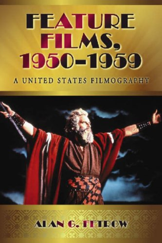9780786440504: Feature Films, 1950-1959: A United States Filmography