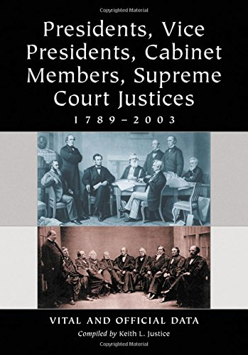 Presidents, Vice Presidents, Cabinet Members, Supreme Court: Justice, Keith L.