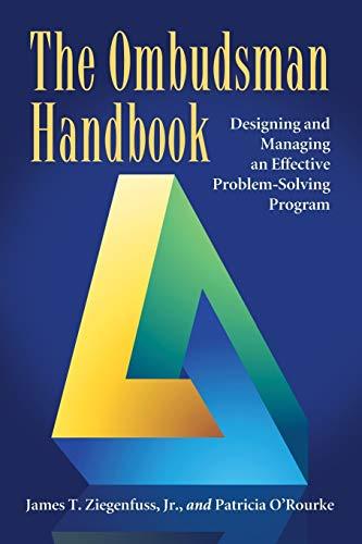 9780786448968: The Ombudsman Handbook: Designing and Managing an Effective Problem-Solving Program
