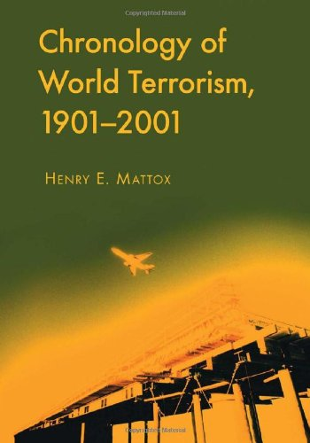 9780786449149: Chronology of World Terrorism, 1901-2001