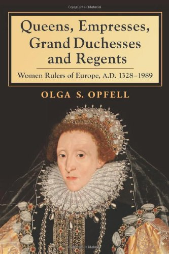 9780786467372: Queens, Empresses, Grand Duchesses and Regents: Women Rulers of Europe, A.D. 13281989