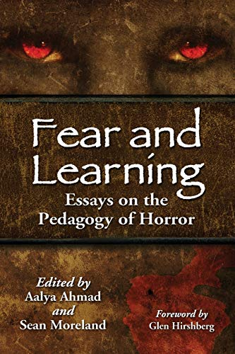 9780786468201: Fear and Learning: Essays on the Pedagogy of Horror