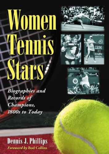 9780786469291: Women Tennis Stars: Biographies and Records of Champions, 1800s to Today
