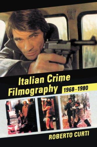 9780786469765: Italian Crime Filmography, 1968-1980