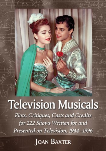 9780786474042: Television Musicals: Plots, Critiques, Casts and Credits for 222 Shows Written for and Presented on Television, 1944-1996