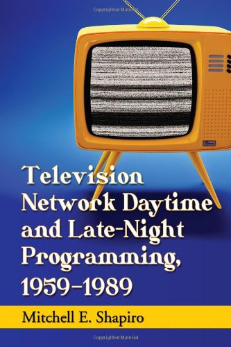 9780786476190: Television Network Daytime and Late-Night Programming, 1959-1989